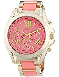 Excellanc Damen-Armbanduhr XL Analog Quarz verschiedene Materialien 150905500007