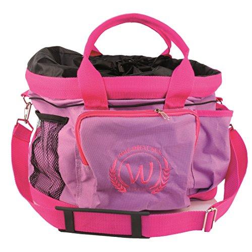 Putztasche flieder /pink Pferdeputztasche Putzbeutel mit Trageriemen