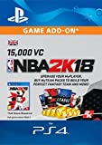 NBA 2k18 15,000 VC [PS4 Download Code - UK Account]
