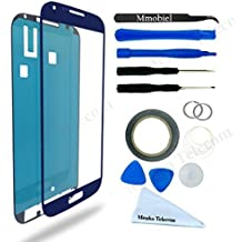 Kit de Reemplazo de Pantalla Táctil para Samsung Galaxy S4 i9500 i9505 Azul Incluye Pinzas / Cinta adhesiva 2 mm / Kit de Herramientas / Limpiador de Microfibra / Alambre Metálico / Manual de Instrucciones MMOBIEL