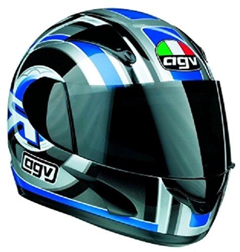 Casco AGV GP1integral Azul/Plata XS Stock Helmet Full Face