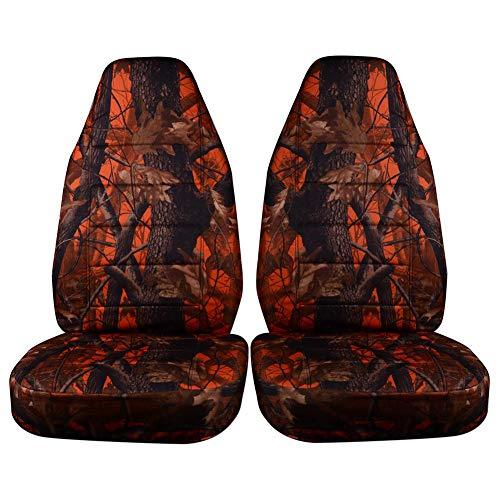 Kitabetty Coprisedili per Auto Mimetici, Coprisedili Auto Universali Sedile Posteriore Anteriore per Fuoristrada SUV per Sedili Auto Lavabili Antiscivolo.