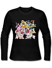 Women's Sailor Moon Crystal T-Shirt Funny XXXX-L