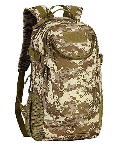 Militare tattico zaino sacchetto esterno borsa a tracolla per escursionismo bicicletta escursione di campeggio one size smsm