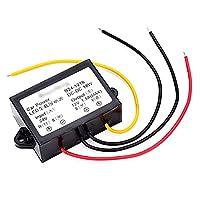 WEONE Black Plastic DC 24V To DC 12V LED Car Power Converter Step-Down Module