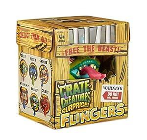 MGA Entertainment Crate Creatures Surprise Flingers Series 3 Niño/niña Juguete para el Aprendizaje