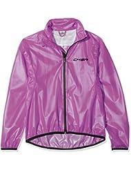 Chiba chaqueta race rendimiento poliéster para niños, Infantil, color morado, tamaño large