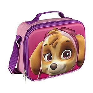 51rJtMXijZL. SS300  - PAW PATROL 2100001611 3D Skye Insulated Cooler Lunch Bag