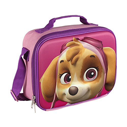 51rJtMXijZL. SS500  - PAW PATROL 2100001611 3D Skye Insulated Cooler Lunch Bag