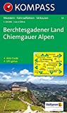 Berchtesgadener Land - Chiemgauer Alpen: Wanderkarte mit Aktiv Guide, Radwegen und Skitouren. GPS-genau. 1:50000: Wanderkarte mit Tourenführer, ... GPS-geeignet (KOMPASS-Wanderkarten, Band 14)