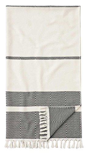 Egeria ,Pestemal´ Hamamtuch mit Fransen | 100x180cm