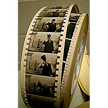 Georges Melies bobine de film: journal ligné par blanc Idéal pour les cinéphiles