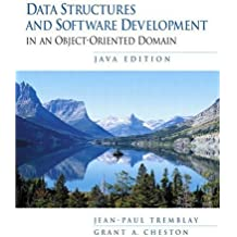 Data Structures and Software Development in an Object Oriented Domain, Java Edition by Jean-Paul Tremblay (2002-08-05)