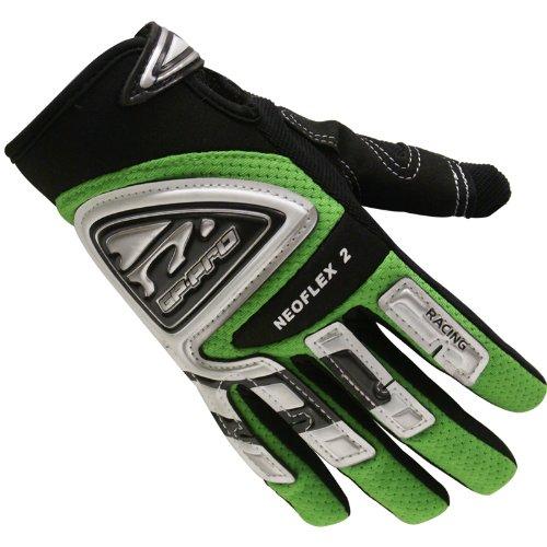 GP-Pro Neoflex 2 Cub Kinder Motorrad-Handschuhe - Offroad/Motocross - Grün - XS