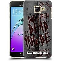 Officiel AMC The Walking Dead Mort À L'Intérieur Typographie Étui Coque D'Arrière Rigide Pour Samsung Galaxy A3 (2016)