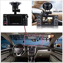 vgsion F30doble lente coche DVR Visión nocturna de 2,7pulgadas HD 1080P lente de girar grabadora vehículo conducción digital cámara de vídeo