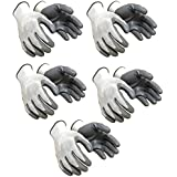 Klaxon Nylon Safety Hand Gloves (Pair 5)