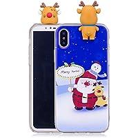 Everainy iPhone XR Silikon Hülle 3D Weihnachts Muster Ultradünn Hüllen Handyhülle Gummi Case iPhone XR Schutzhülle... preisvergleich bei billige-tabletten.eu