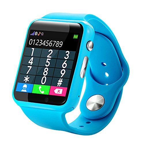 OSYARD Kid Smart-Uhr,Wasserdicht Touchscreen Smartwatches mit GPS Tracker Schrittzähler,Multifunktional Sportuhren Toys Cool Armbanduhren Smart Watch für Kinder Mädchen Jungen Geburtstag Geschenke