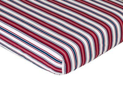 Nautisches Nights Spannbetttuch Gitterbett Baby/Kleinkind bedding-stripe Print