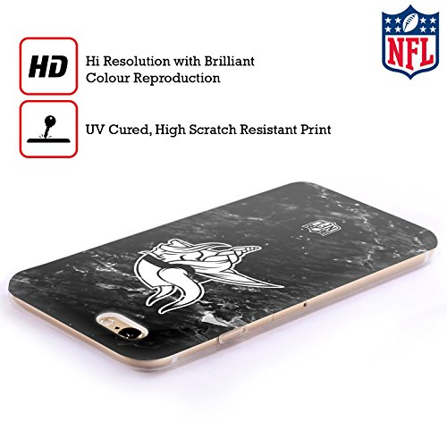 Offizielle NFL Marmor 2017/18 Minnesota Vikings Soft Gel Hülle für Apple iPhone 6 Plus / 6s Plus Marmor