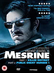 Mesrine: Part 1 & 2 [DVD] [2008]