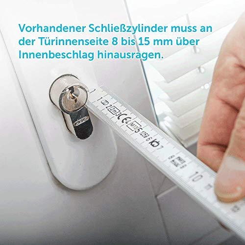 Eqiva 142950A0 - Cierre de puerta, tracción, Bluetooth Smart