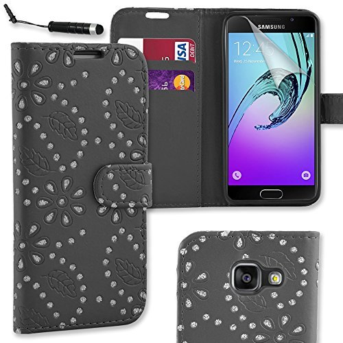 connect-zone-samsung-galaxy-a3-2016-black-diamond-glitter-premium-pu-leather-flip-wallet-case-cover-