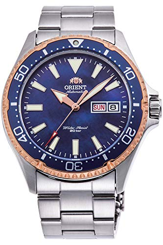 Orient Mens Analogue Automatic Watch with Stainless Steel Strap RA-AA0007A09B