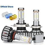 4 lados 12000 lm H7 LED Canbus H4 foco LED H11 100 W Faro H8 9005 HB3 9006 3000 K 6000 K 8000 K luces de coche 12 V 24 V CSP