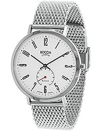 Boccia Herren-Armbanduhr Analog Quarz Edelstahl 3592-03