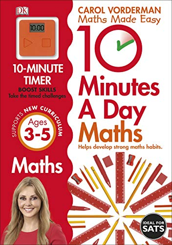 10 Minutes a Day Maths Ages 3-5 Key Stage 0 (Made Easy Workbooks) por Carol Vorderman