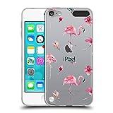 Head Case Designs Offizielle Kristina Kvilis Muster 1 Flamingo Soft Gel Hülle für Apple iPod Touch 5G 5th Gen