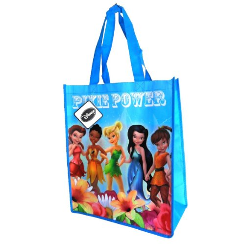 Disney Fairies Tinkerbell Reusable Tote Bag (14 x 15 inches) by ParagonMarketing