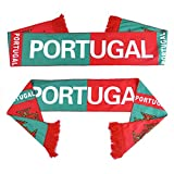 PENVEAT Russie Coupe du monde de football 2018Écharpe Fans de foot Equipe Écharpe de Portugal équipes Drapeau Bannière de football Cheerleaders Écharpe, équipes de Portugal