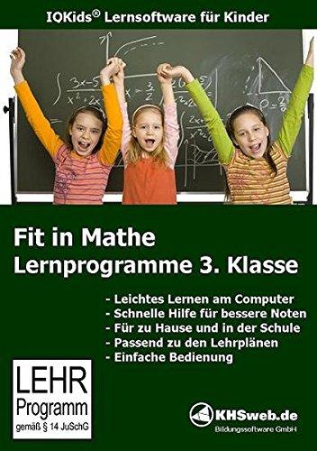 Fit in Mathe: Lernprogramm 3. Klasse