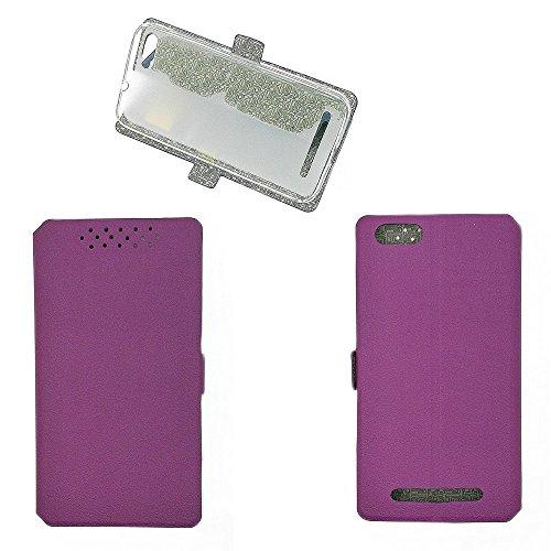 QiongniAN Hülle für GiONEE Elife S Plus hülle Schutzhülle Case Cover Purple