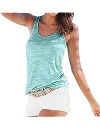 16ffbae647ad Ba Zha HEI Frauen Sommer Weste Top Sleeveless beiläufige Tank Bluse Tops  Damen Schulterfrei Weiches Material