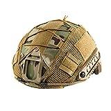 OneTigris - Funda Protectora para Casco táctico, Cubierta para Casco Militar para M/L/XL Ops de Core Fast PJ Casco