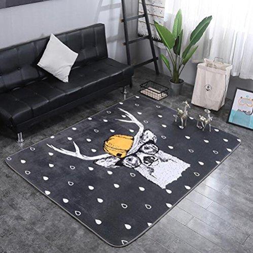 KIMSAI Wohnzimmer Cartoon Teppich, Dekoration Schlafzimmer Yoga Matte Picknick Klettern Pad Teppich Teppich Matratze -