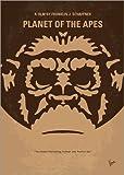 Cuadro de metacrilato 120 x 170 cm: No270 My Planet of The Apes Minimal Movie Poster de chungkong