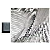 all-around24® Insektenschutz Fliegengitter für Fenster Farbe Schwarz Fliegennetz Moskitonetz inkl. Befestigungsband Klettband 4 Stück