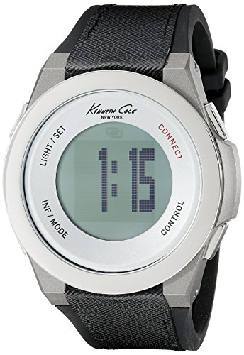 Kenneth Cole New York unisex 10023867 KC connect- tecnologia digitale display nero orologio al quarzo giapponese