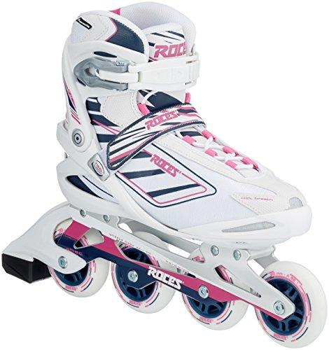 Roces Damen Inlineskates Izi W White-Blue,Pink 40