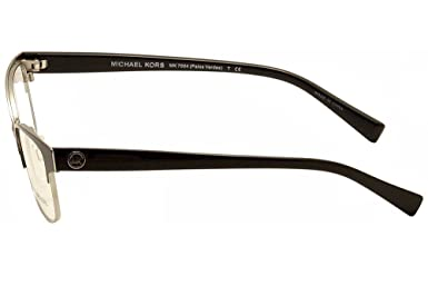 f87647b3bba0 MICHAEL KORS MK 7004 Eyeglasses 1030 Light Gun/Rose Gold 53-15-140:  Amazon.co.uk: Clothing