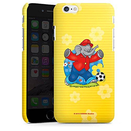 Apple iPhone X Silikon Hülle Case Schutzhülle Benjamin Blümchen Fanartikel Merchandise Fussballstar Premium Case matt