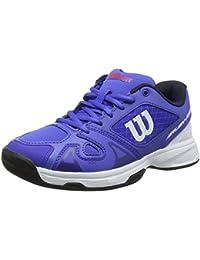 timeless design 0ef02 b5ae2 WILSON Rush Pro Jr 2.5, Zapatillas de Tenis Unisex Niños