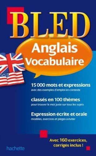 Bled Vocabulaire Anglais par Annie Sussel