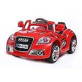 Best Audi enfants voitures électriques - voiture électrique nouveau coupé 12 V rouge Review