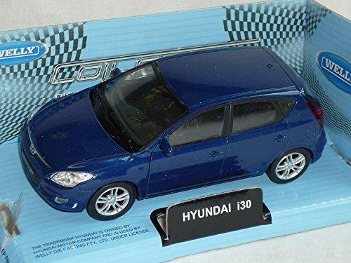 Hyundai i30 i 30 Blau 5 TÜrer Ca 1/43 1/36-1/46 Welly Modellauto Modell Auto Hyundai Modell Auto